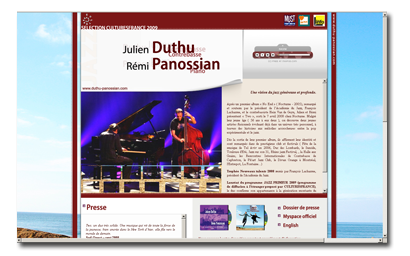 DUTHU PANOSSIAN, DUO JAZZ